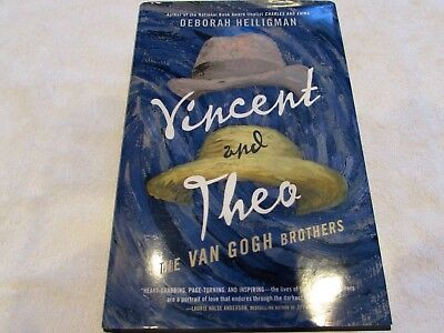 Vincent and Theo, The VAN GOGH Brothers, Hardcover Book Deborah Heiligman YA