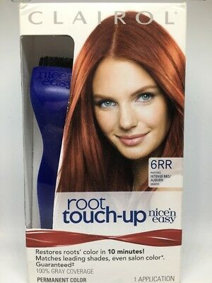 Clairol Root Touch Up Nice N Easy 6rr Intense Red Auburn Shades Permanent