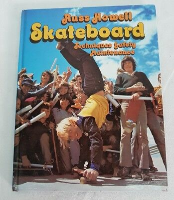 Skateboard Techniques Safety Maintenance Book by Russ Howell 1975