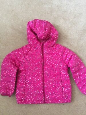 UNIQLO Girl's Hooded Jacket Size 110 For Height 105-115cm