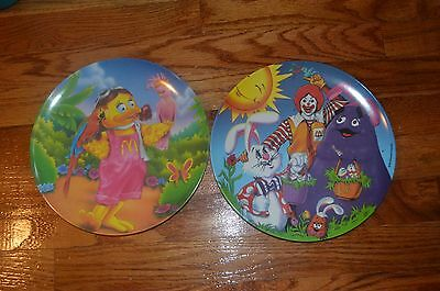 McDonald's  Collectors Plates ~Two~  Used 1996 (5679)