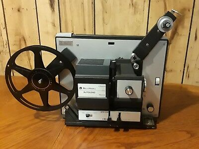 Beautiful Bell and Howell Autoload 481-A 8mm/Super 8 Movie Projector