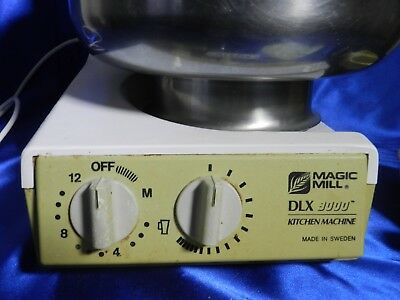 VINTAGE Magic Mill DLX 9000 Working Standing Mixer