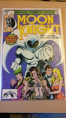 Moon knight #1 marvel comic premiere issue