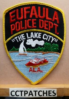 EUFAULA POLICE DEPARTMENT Patch ~ Oklahoma ~