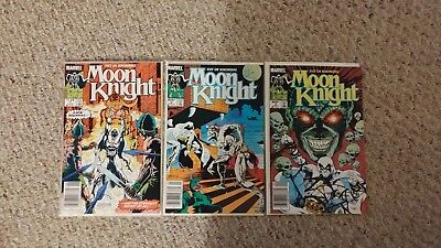 Moon Knight: Fist of Khonshu 1-3 (of 6) Limited Series.