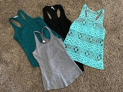 Womens ~MAURICES & STUDIO Y~ Lace Tank Top Shirt Lot ~EXCELLENT~ XS Small