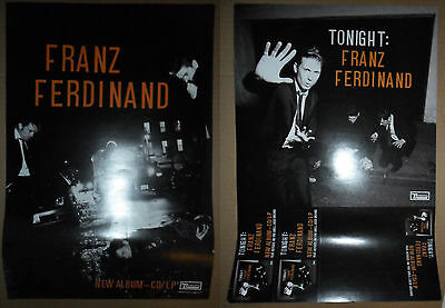"""Franz Ferdinand Tonight promo poster 12""""x17.5"""" ONE TIME LISTING!!!"""