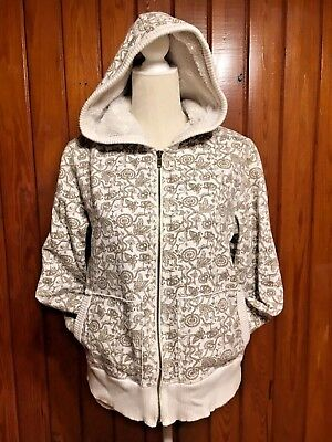 Faded Glory Outerwear Girls Jacket Hooded Pockets Zip Close Size Large (14/16)