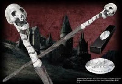 Harry Potter : DEATH EATER WAND Version 1 (Skull) Character Edition NN8221