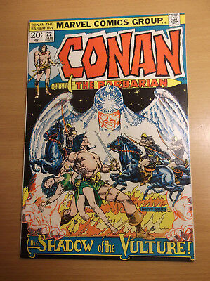 Marvel: Conan The Barbarian #22, Origin Re-Told, Barry Smith/stan Lee, 1973, Vf!