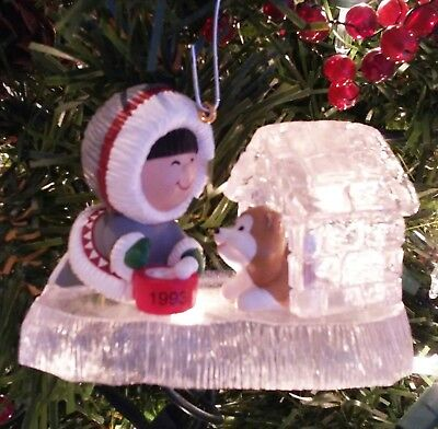 HallmarkFrosty Friends Ornament, 1993, 14th in Series with Box