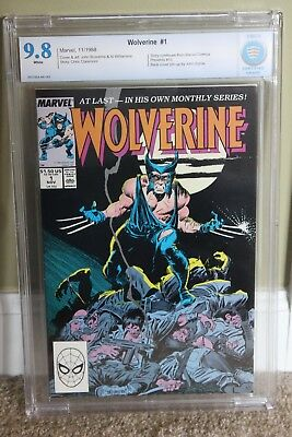 Cbcs 9.8 Wolverine # 1Mint White Pages 1988 Like Cgc (Patch)