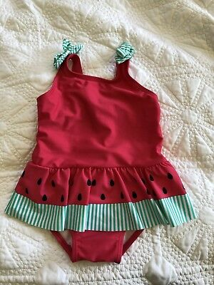 Sprout Baby Girls Size 1 Watermelon Bathers Swimsuit BNWT