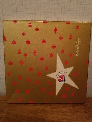 Vintage Marshall Field's Fields Uncle Mistletoe Aunt Holly Christmas Gift Box