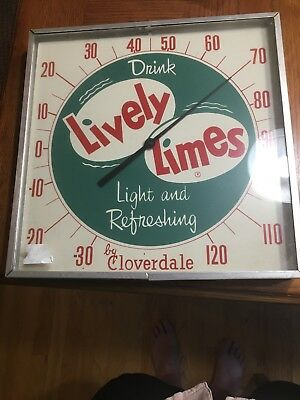 Lively Limes Thermometer