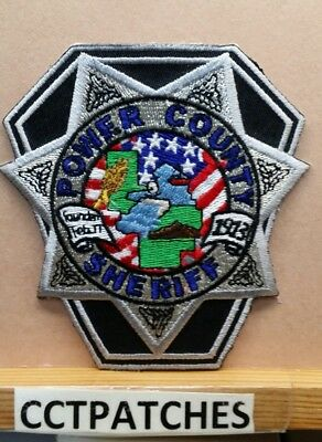 Power County, Idaho Sheriff (Police) Shoulder Patch Id
