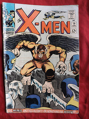 The X-Men #19 (Apr 1966, Marvel) First appearance of Mimic