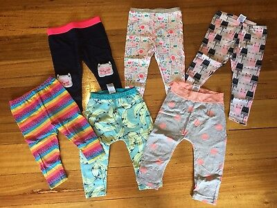 Lot Bundle Girls Legging Target Bonds Size 1