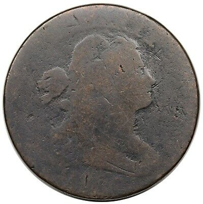 1796 Draped Bust Large Cent, Reverse of '95, S-92, R.3, Fair