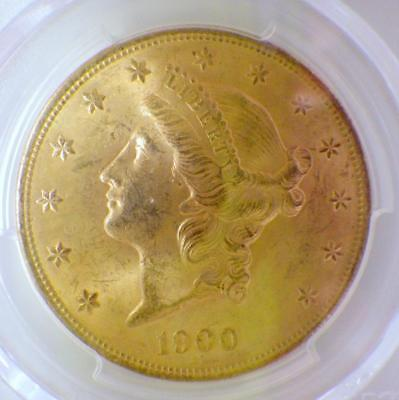 1900 Liberty Head Double Eagle Gold Coin $20 PCGS MS63 Uncirculated 20 Dollar