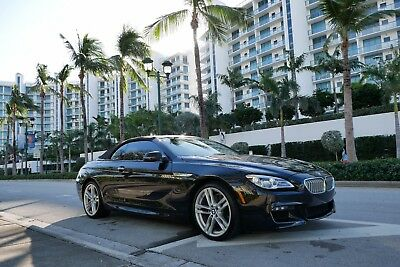 2017 BMW 6-Series  2017 BMW 650i M-sport, Convertible,  fully loaded! Luxury only 5kmiles