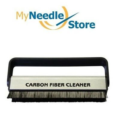 10 Pack, NEW Anti-Static Carbon Fiber Vinyl Record Cleaning Brush and Cleaner