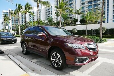 2017 Acura RDX  2017 ACURA RDX ADVANCE Fully loaded Navigation;BackUp cam,only 500miles MSRP43k$