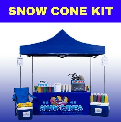 The Ultimate Snow Cone Business Kit
