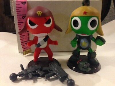 keroro Gunso - Sgt Frog - 8 Miniature LOT - High Quality!  MUST SEE!