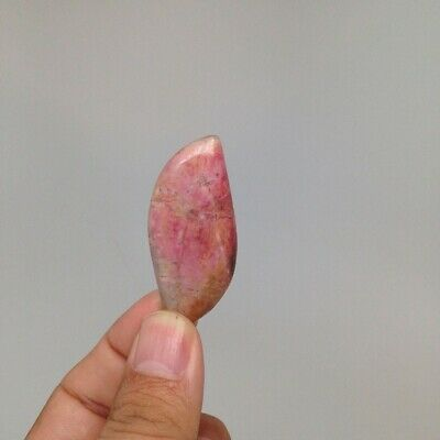 11.7 Grams Natural Pink Rhodonite Cabochons Hand-carved #117