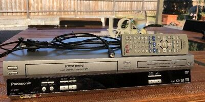 Panasonic NV-VP60 DVD player/VCR combo with remote
