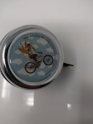 Fort Collins NEW BELGIUM BREWERY BIKE BELL Bicycle Colorado Brewing CO Fat Tire
