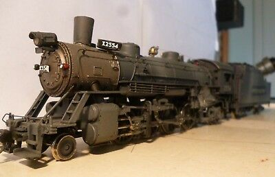HO - Athearn GENISIS Mikado 2-8-2 top condition DCC ready lightly weathered
