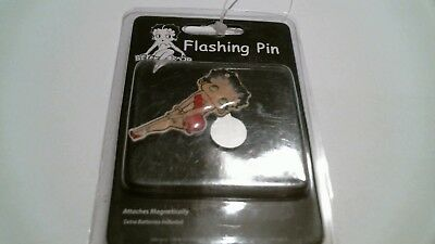 Betty Boop Flashing Pin Magnetic Brand New