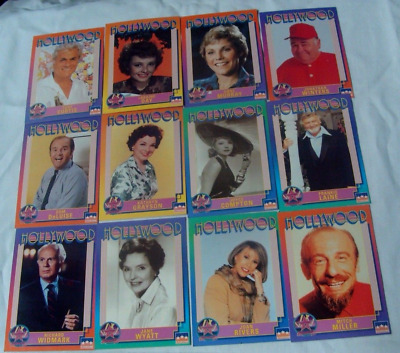 1991 Hollywood Trading Cards By Starlight Inc. Lot Of Cards - 127 Cards