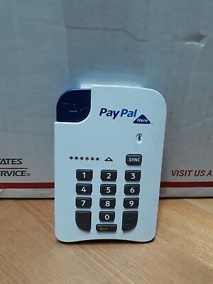 Paypal Here Credit Card Reader Mobile Bluetooth
