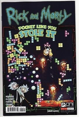 RICK AND MORTY: POCKET LIKE YOU STOLE IT #1,2,3,4,5 Oni Press Comics COMPLETE! &