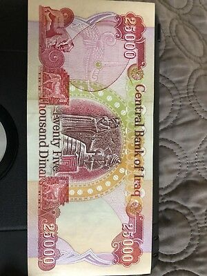IRAQI DINAR, 1-25000 Note Uncirculated