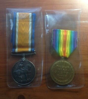WW1 Medal Pair - KIA 1917 - 27631 Pte, Cleal Somerset Light Infantry