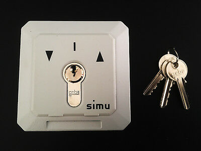 SIMU Genuine Key Switch, 240V, Made in France