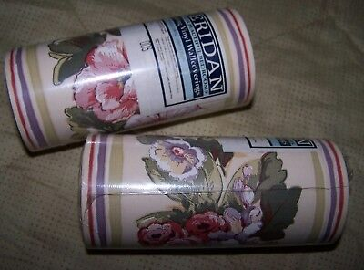 Vintage Sheridan Floral Vinyl Border For Decorating - New In Packaging