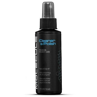 Molecule Motorcycle Motorbike Bike Helmet Cleaner and Polish 4oz Spray Pump