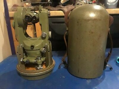 Wild Heerbrugg T1A Theodolite With Bullet Case
