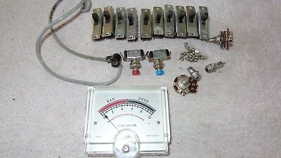 Good Working Parts Japanese Valve Tube Tester Meter Switches Lamps Electronics