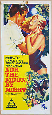 Nor the Moon by Night Original Daybill Movie Poster