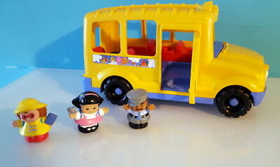 Fisher Price - Little Peoples Bus Scolaire Jaune