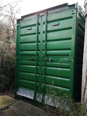 Steel shipping container - 9ft x 6ft x 5ft