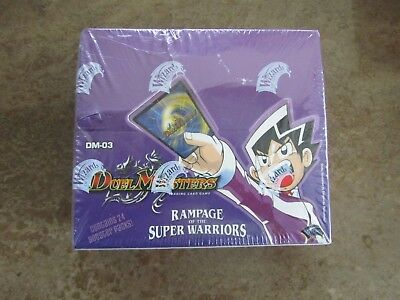 Duel Masters TCG - Rampage of the Super Warriors Booster Box DM-03 New / Sealed