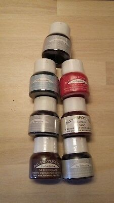 ***7 Bottles*** All Purpose Inks-Assorted Colours